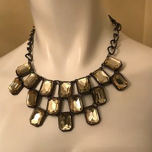 Sixteen Jewels Yellow/Gold Layered Necklace